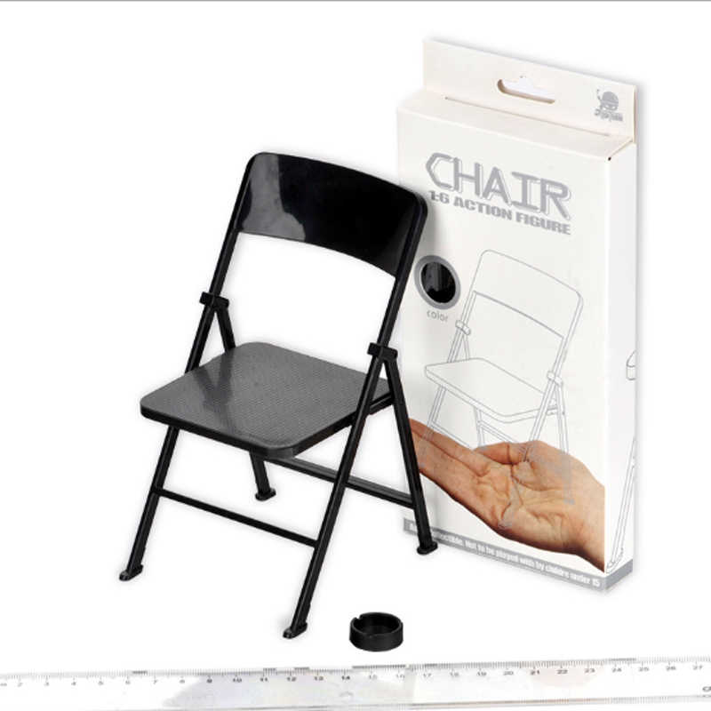 "1/6 scale chair display for 12"" Action Figure"