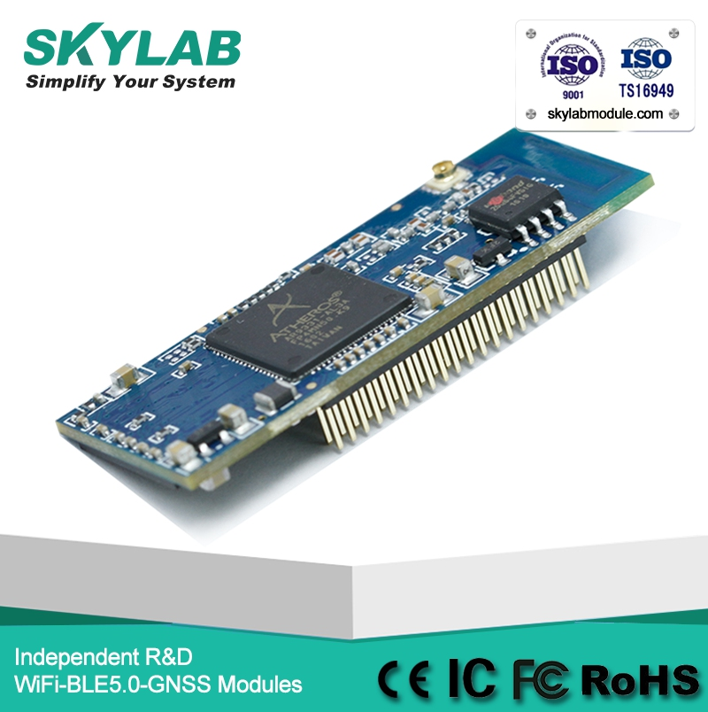 2017 SKYLAB SKW71 1LAN 1WAN openWRT atheros ar9331 access point/router wifi module monitoring device image