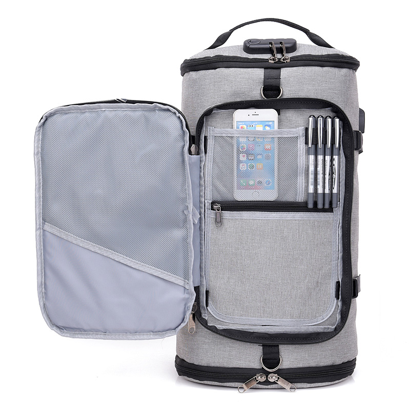 72e23762fb1f Hot Terylene Men Sport Fitness Bag Multifunction Tote Gym Bags For Shoes  Storage Outdoor Travel Anti