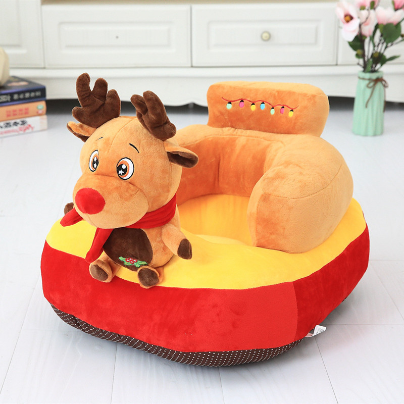 Cute Plush Baby Chair Seat Pillow Infant Soft Back Support Cushion Sit Infant Protector Feeding Seat Plush Toy Newborn Gift-in Stuffed & Plush Animals from Toys & Hobbies    3