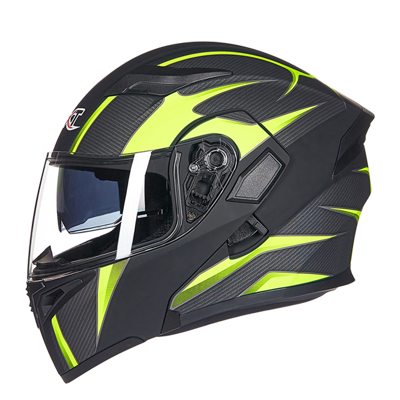 GXT men flip motorcycle rcycle helmet double shield with internal sunlight modular lens motorcycle racing helmet DOT approved