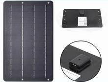 6V 1.2A Monocrystalline solar panel 6.7W Solar charger for Mobile phone. Mini portable soalr panel charger With Regulator