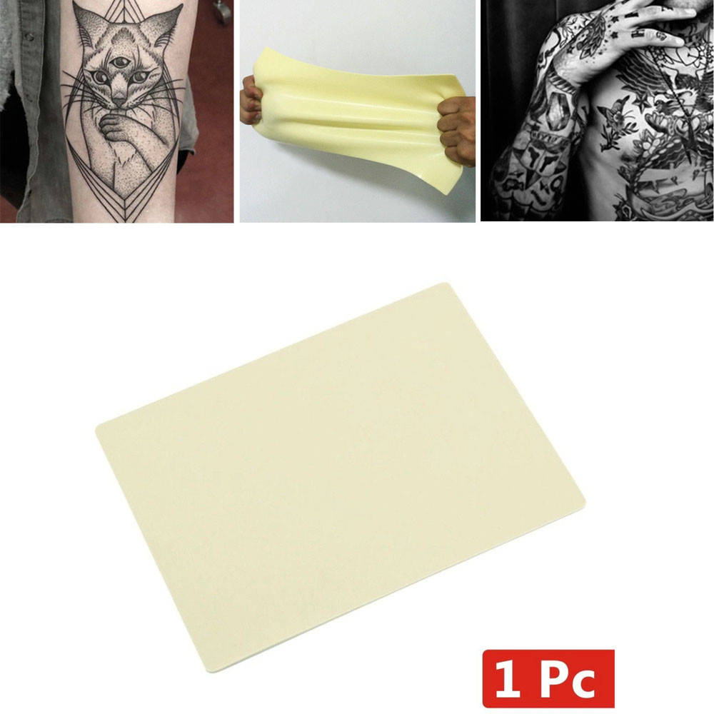 2018 New Fashion 1Pcs Learn Blank Tattoo Tattoos Fake False Practice Skin 20x15cm Synthetic Maquiagem Drop Shipping