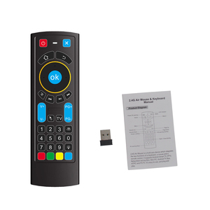 Image 3 - 2020 MX3L פרו תאורה אחורית אוויר עכבר IR למידה מרחוק בקרת MX3 2.4G RF אלחוטי מקלדת עבור X96 מיני H96 מקסימום אנדרואיד טלוויזיה תיבה