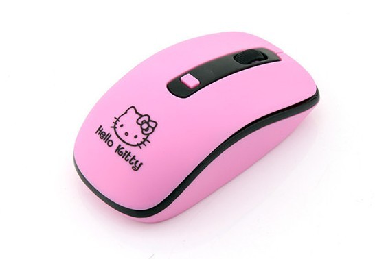 Wireless Mouse Cute Hello Kitty Ultra Thin Computer Mice 1600DPI USB Optical Gaming Mause For PC Laptop kids Girl Gift 5