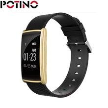 Potino N108 Smart Браслет Heart Rate Мониторы Приборы для измерения артериального давления IP67 Водонепроницаемый умный Браслет Bluetooth часы PK Сяо Mi mi Группа 2