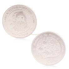 Реальные памятные монеты с Рождеством Санта-Клаус памятная монета