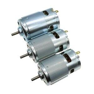 Двигатель постоянного тока 6 В/7,4/12 V/18 V/24 V 3000-15000 об/мин Высокая скорость большой крутящий момент DC 390/540/550/555/775/795/895 ручной Электрический миксе...