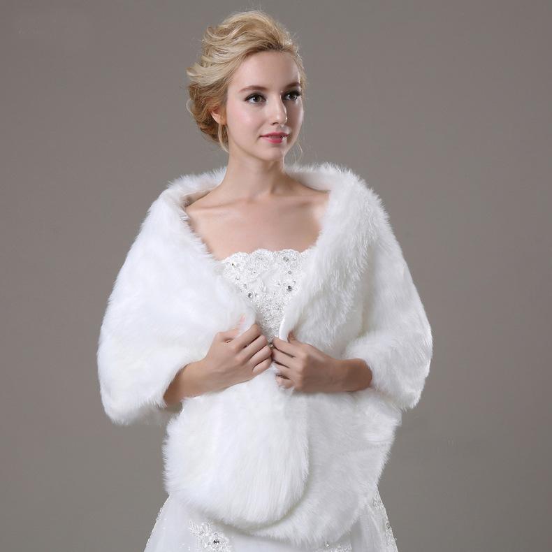 chenlvxie luxueux plume dautruche fourrure bolros de mariage de marie veste bolero mariage shrug - Bolero Plume Mariage