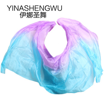 High Quality Dance Belly Dance Props  Handmade veils Natural Silk Belly Dance Veils Dance Props Silk Veils dance dance dance