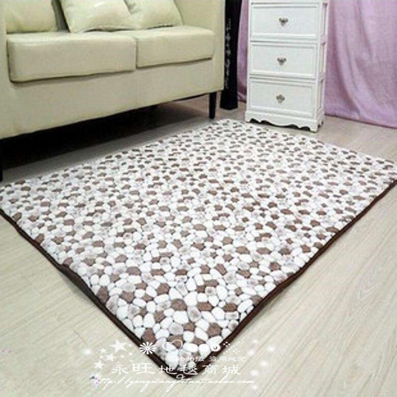 lavado de agua pequea piedra rstica esteras de la alfombra felpudo alfombra de bao alfombra cama