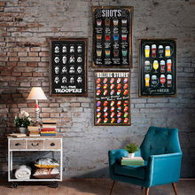 Metal Sign Bar Wall Decoration Tin Vintage Poster Home Decor Painting Plaques Art Poste 1001(606)