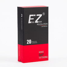 EZ Revolution Needle Cartridge #10 Bugpin Long Taper Curved Magnum Tattoo Needle For Cartridge Tattoo Machine 20PCS/Box