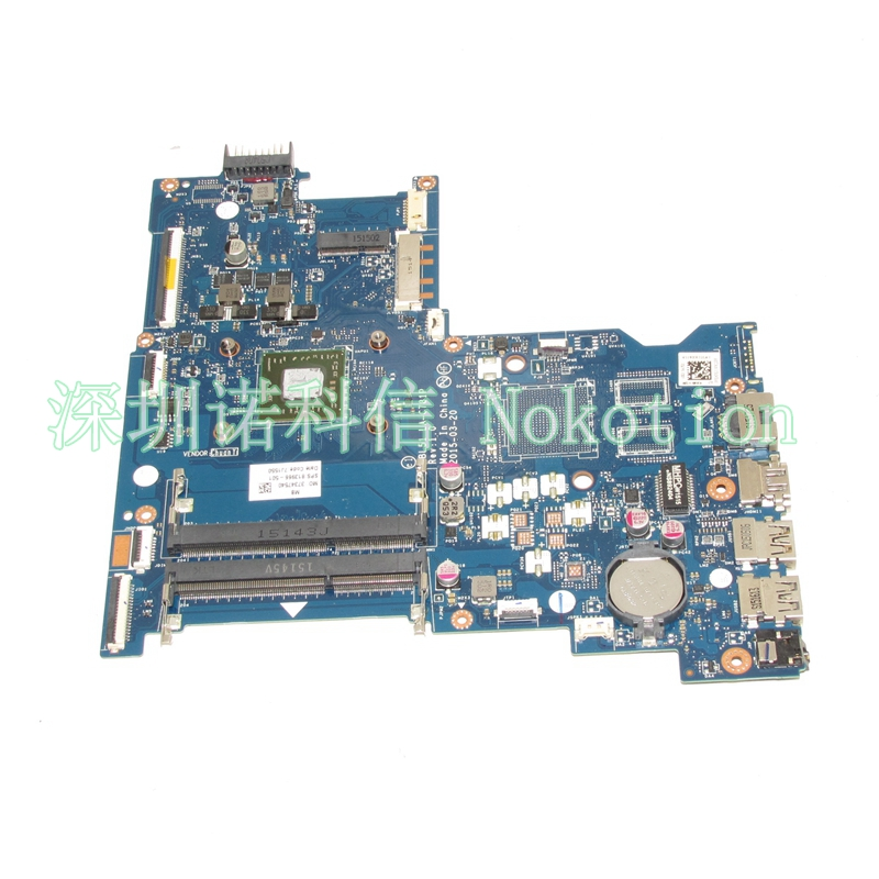 NOKOTION Original Laptop Motherboard ABL51 LA-C781P 813966-501 For HP 15-AF Mainboard full test WORKS nokotion 814611 001 818074 001 laptop motherboard for hp 15 af series abl51 la c781p mainboard full test