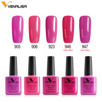 61508 VENALISA Nail Art Professional Gel Polish 60 Colors Gel Nail Polish 5 Piece Series