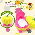 Calabaza Modelado Niños Bebé Wc Potty Training Urinario Pee Entrenador para Niño Silla Asiento De Plástico de Baño 272-8601 #