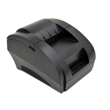 ZJ-5890F Mini 58mm Low Noise Thermal Printer USB Interface POS Receipt Printer For Restaurant and Supermarket