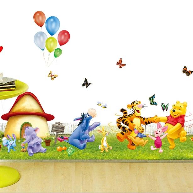 Wallpaper Winnie The Pooh: Popular Baby Pooh Wallpaper-Buy Cheap Baby Pooh Wallpaper