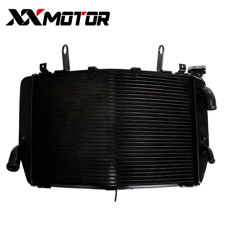 NEW Motorcycle Accessories Radiator Aluminum Cooler Cooling Water Tank For Yamaha YZF R1 2007 2008 YZF1000 YZFR1 YZF-R1 07-08 custom motorcycle injection road fairings kits for yamaha 2007 2008 yzfr1 yzf r1 07 08 red santander 41 fairing parts tank cover