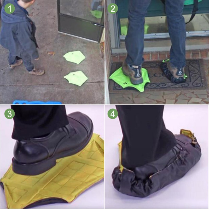 Automatic 15s Fast Shoes Dust Cover Support Tools Outdoor Repeated Slippers Hand Shoe Covers Shoe Covers Hot