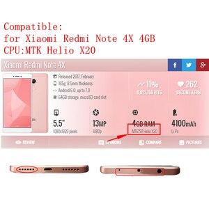 Image 2 - Pour Xiaomi Redmi Note 4X MTK helios 4GB lcd écran tactile numériseur assemblée avec cadre Note4X Pro écran pièces de réparation