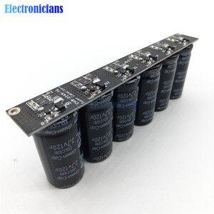 Image 4 - 16V 20F Ultracapacitor Motore Batteria di Avviamento Auto di Richiamo Super Condensatore # Fila Singola/Doppia Fila 6 Pcs 2.7V 120F Condensatori