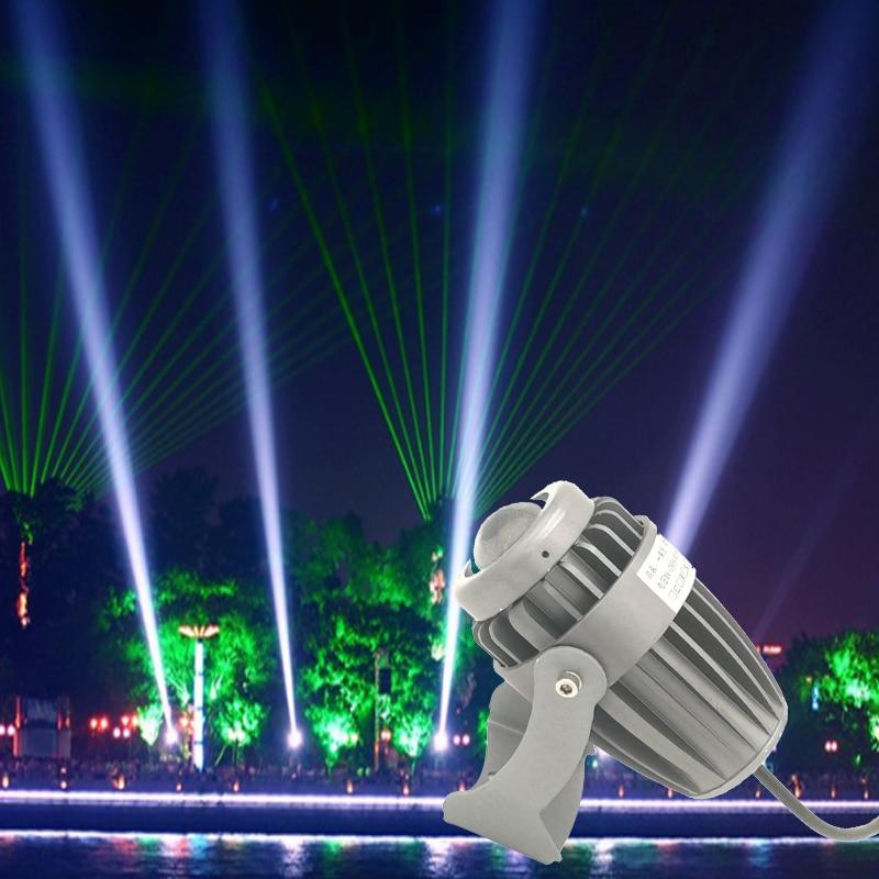 Een Beam Light Spotlight Led 10 W Ac85-265 Schijnwerper Outdoor Waterdichte Licht Pijlers Exterieur Laserlicht Constructie Verlichting