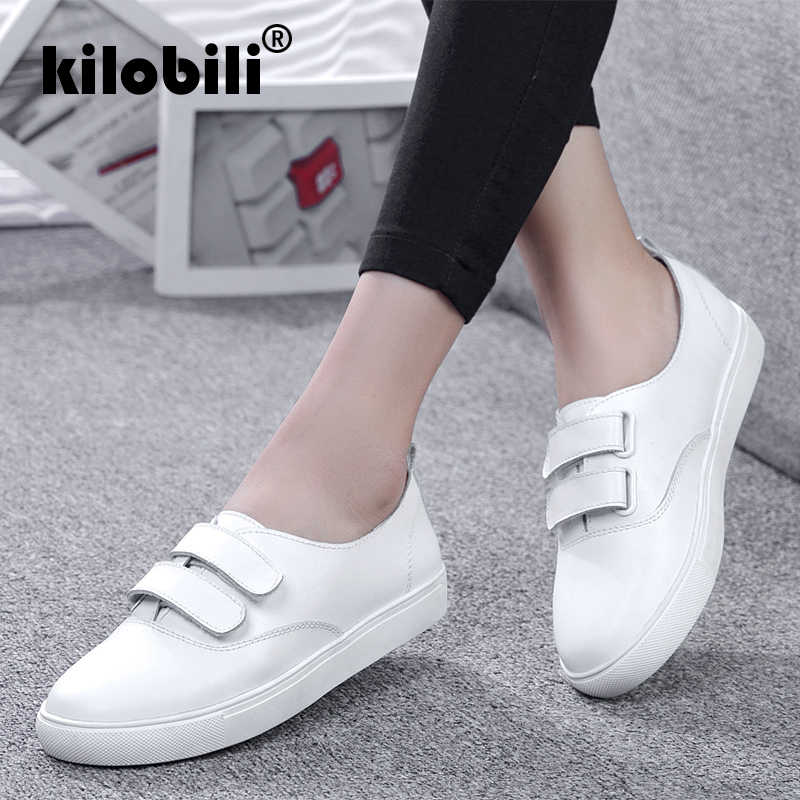 Kilobili 2018 Otoño de las mujeres planos de las mujeres damas Ballet pisos  mocasines zapatos de 3cc1a07d509