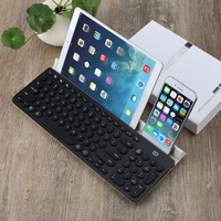 FD IK6650 Fashion Multi Platform Wireless Bluetooth Keyboard With 96 Keys and Tablet Stand for Smart Phone PC Tablet Portable
