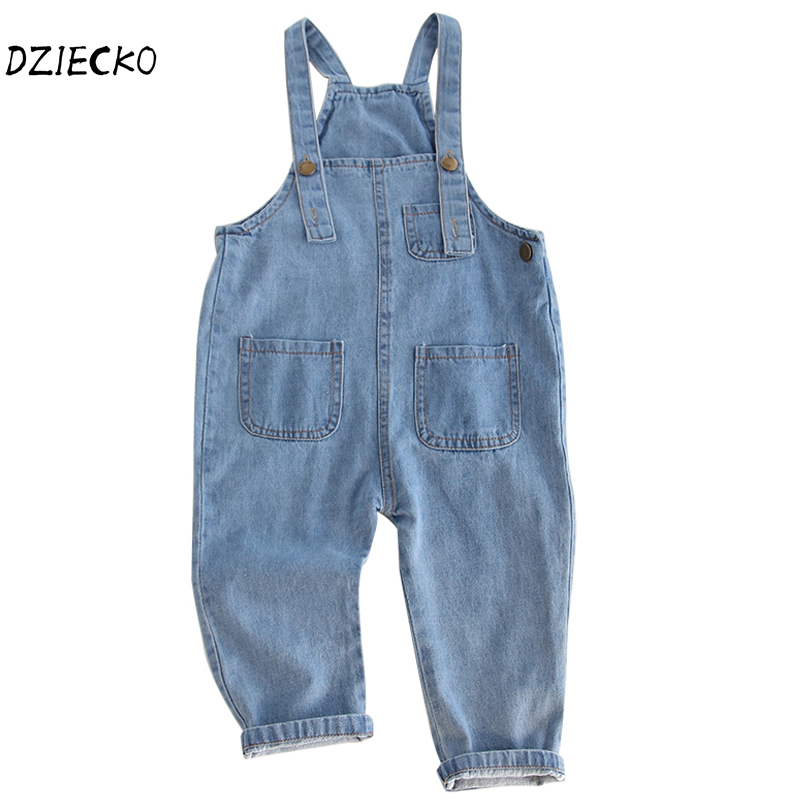 b272deecd97 2018 Spring New Baby Boys Overalls Toddler Girls Clothing Children Denim  Pants Brand Girl Overall Jeans Kids Jumpsuit Bib Pants