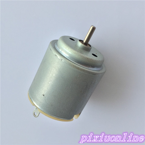1pcs K137Y 3-6V Micro R260 DC Motor For DIY Toy Four-wheel Scientific Experiments High Quality On Sale Pakistan
