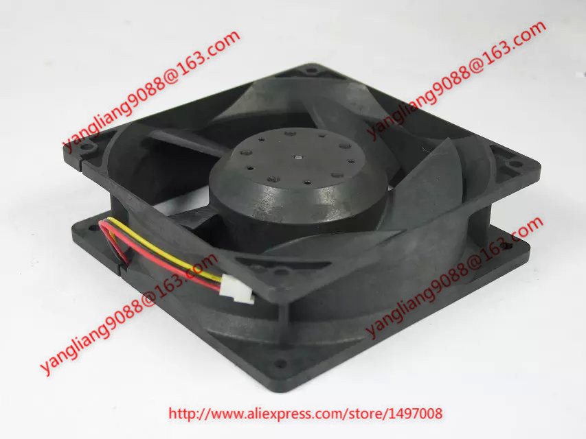 MMF-12D24DS-RM1 CA1323H01 DC 24V 0.36A 3-wire 120x120x38mm Server Square fan free shipping for papst 4414 fn 2n dc 24v 8 3w 3 wire 3 pin connector 120x120x25mm server square fan