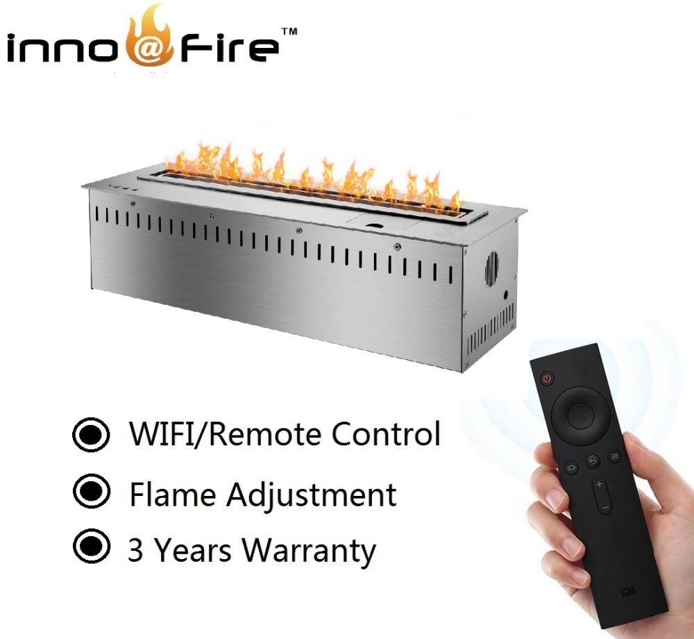 On Sale  18 Inch  Ethanol Burner Remote/wifi Control Bioethanol Fireplace Stove