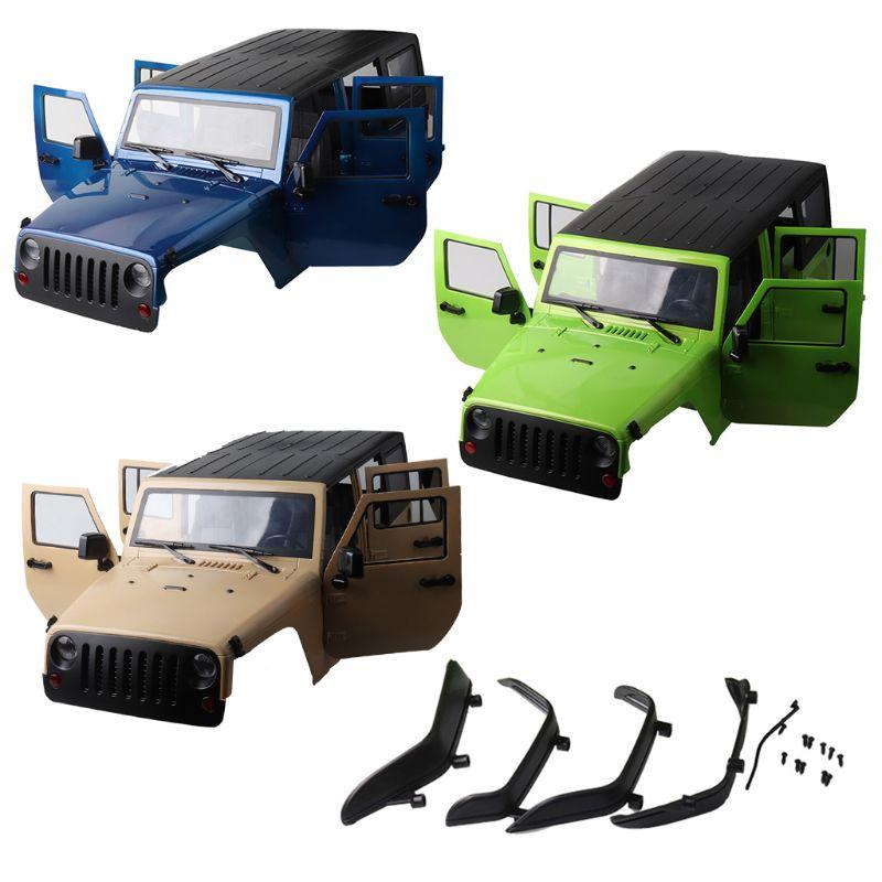 RC Rock Crawler 1/10 Corps Coquilles Pour Axial SCX10 RC4WD D90 D110 Empattement 313mm BRICOLAGE Accessoires De Voiture