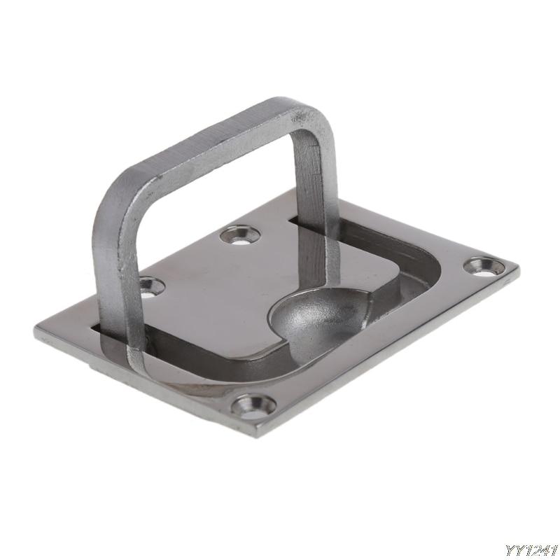 Boat Hatch Lift Handle Flush Mount Boat Marine Door Window Stainless Steel