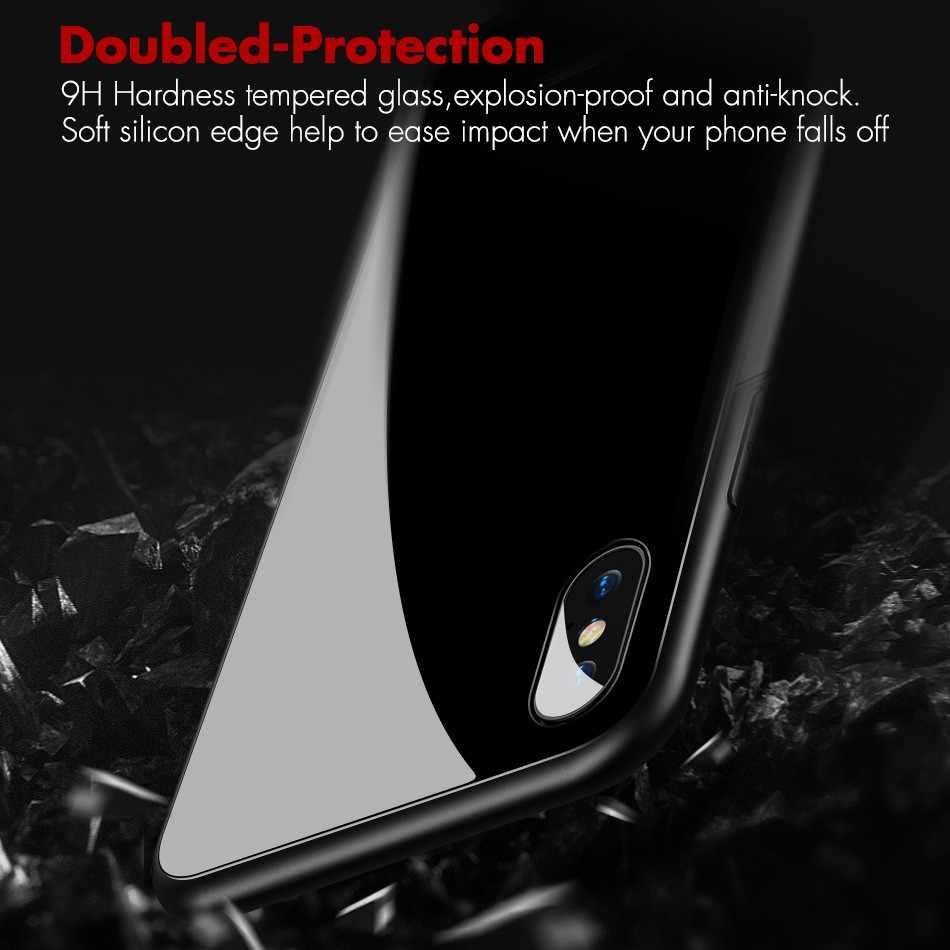 Мраморный нефритовый узор глянцевый гладкий Чехол из закаленного стекла для телефона чехол для Xiaomi mi 8 9 SE mi x 2 2s 3 красный mi Note 5 6 7 8 Pro