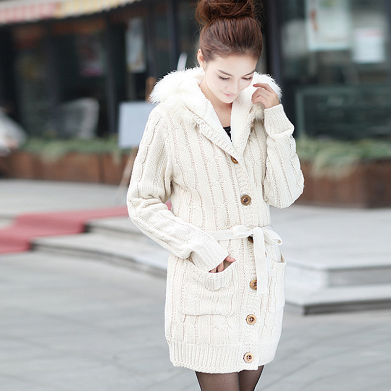 Aliexpress.com : Buy Slim Cardigans Warm Korean Style Crocheted ...