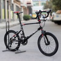 JAVA CL Bike 20 Minivelo 18 Speed Uniex High Quality Caliper Brakes Road Drop Bar 451