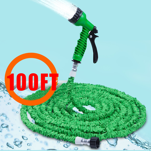 100FT Extensible Garden Water Hose