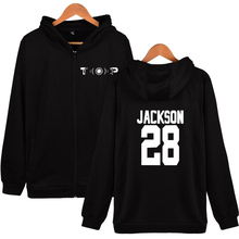 2019 GOT7 SPINNING TOP:BETWEEN SECURITY & INSECURITY 2D Print Zipper Hoodies Sweatshirt Cute Women/men Fashion Hoodies Zippers