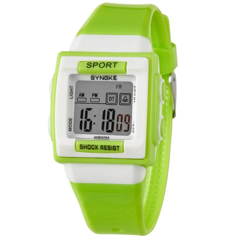 SYNOKE The new children's electronic watches fashion High quality men and women sport watch Fashion Accessories