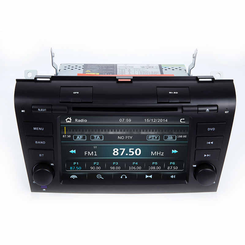 2 الدين سيارة ستيريو سيارة مشغل ديفيدي ل MAZDA3 مازدا 3 2004 2005 2006 2007 2008 2009 AutoRadio مسجل شرائط الصوت الملاحة RDS