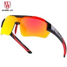 WHEEL UP 3 Lens UV400 Cycling Eyewear Waterproof Coating Aerodynamic Bicycle Polarized Sunglasses MTB Glasses sunglasses