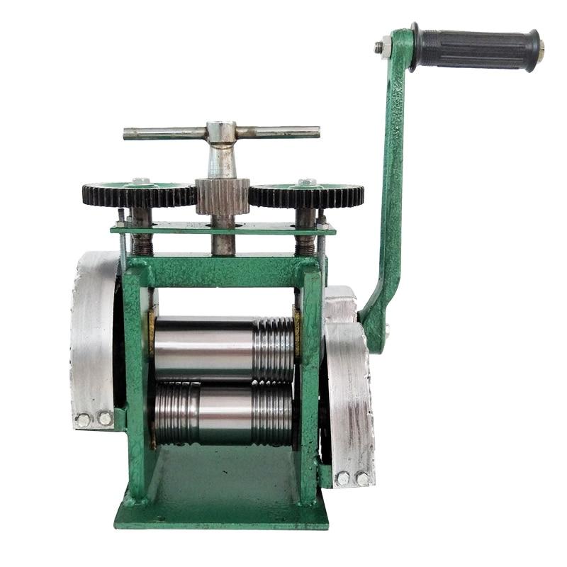 Combination Rolling Mill Machine Manual Metal Rollers Flattening Designs Tool Jewelry Making Tools