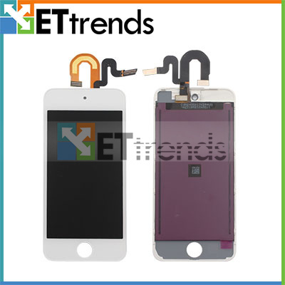 20PCS/LOT No Dead Pixel LCD Display & Touch Digitizer Replacement for iPod Touch 5 / Touch 6 DHL Free Shipping