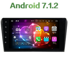 3G 4G wifi 1024*600 2GB RAM 2 Din Android 7.1.2 Quad core Bluetooth Car GPS Navigation Multimedia Player For Mazda 3 2009-2012