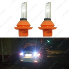 30W T10 T15 T20 Car HID Xenon Reverse Light 2x Slim Ballasts + 2x HID Bulbs HID Backup Light 6000K #FD-3597