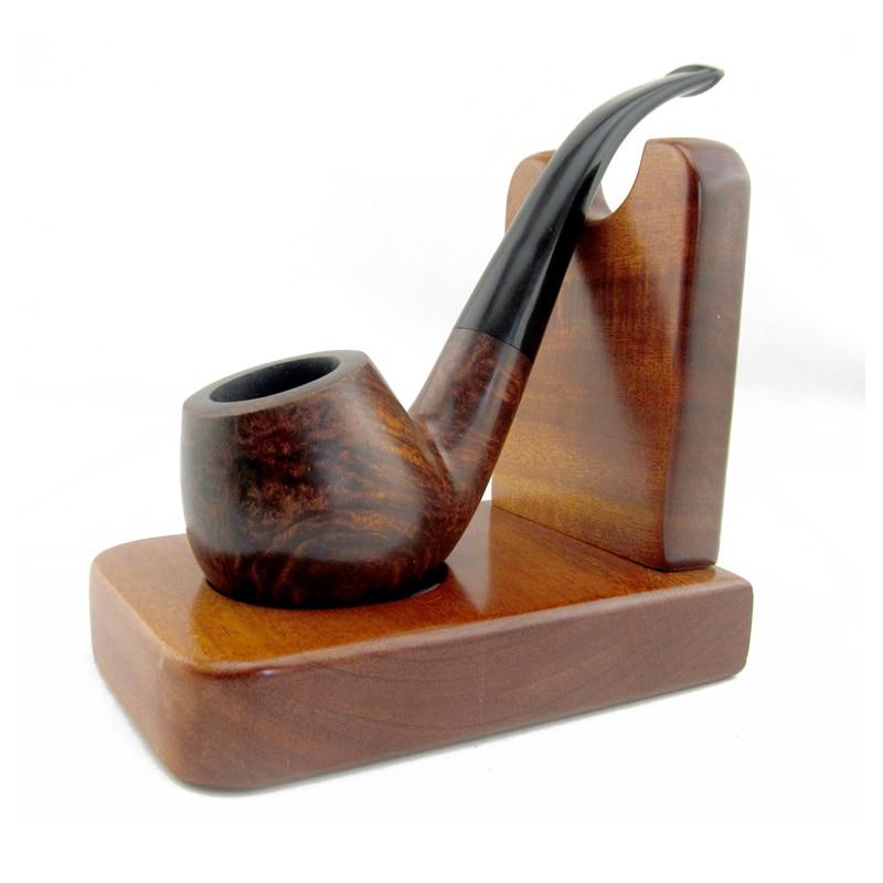 Solid Wood 1pcs Smoking Pipe Rack Stand Smoking Pipe ...