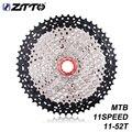 ZTTO MTB 11 скорость L кассета 11s 11-52T широкое соотношение Freewheel горный велосипед части для K7 X1 XO1 XX1 M9000