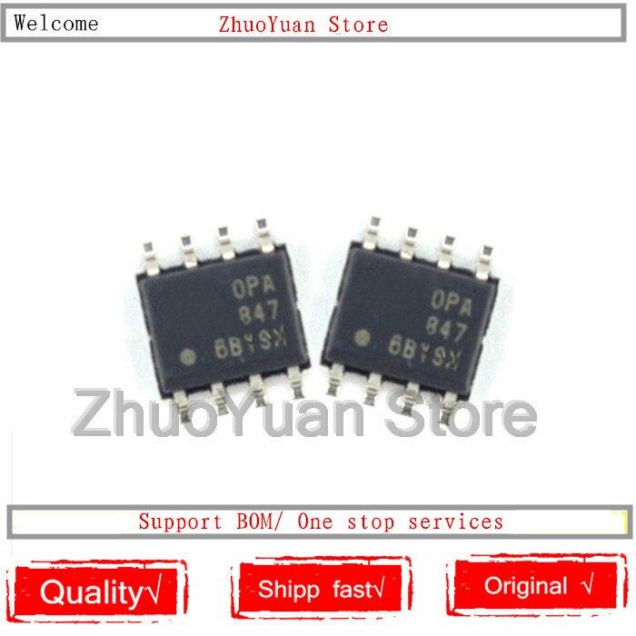 1PCS/lot New Original OPA847IDR OPA847ID OPA847 SOP-8 IC Chip